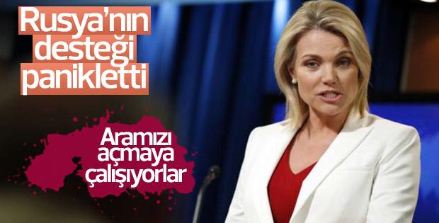 Nauert: Rusya, Türkiye ile aramızı açmaya çalışıyor