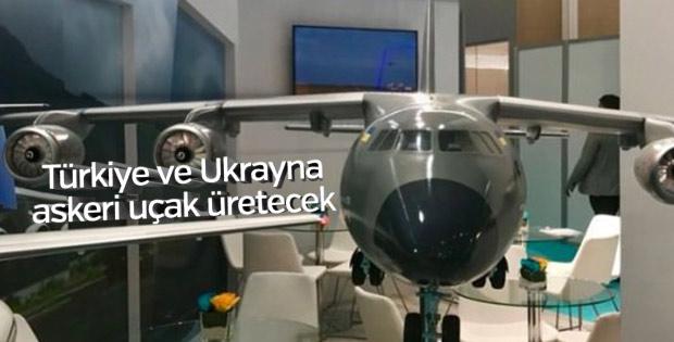 Türkiye ve Ukrayna askeri uçak üretecek