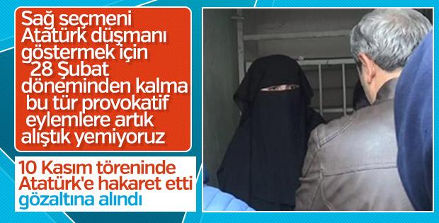 Edirne'de 10 Kasım töreninde provokasyon