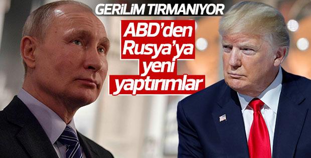 ABD Rusya gerilimini arttıracak adımlar attı