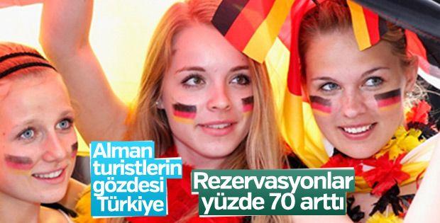 Alman turistlerin 1 numarası Türkiye