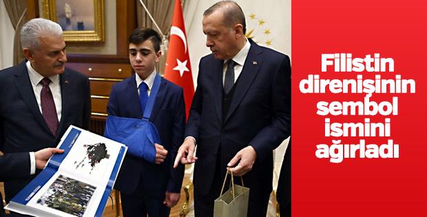 Cuneydi Beştepe'de Erdoğan'ın konuğu oldu
