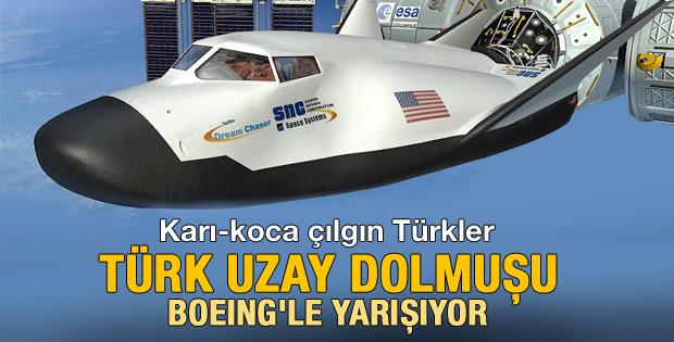 Dream Chaser NASA'ya teslim edildi