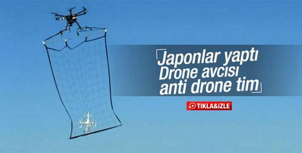 Polis drone'ları drone'la avlıyor