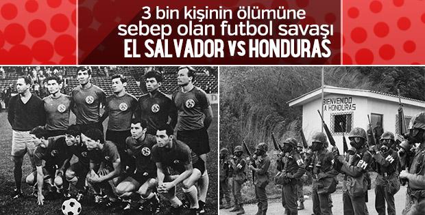 Bir futbol maçı savaşa dönüştü: El Salvador- Honduras