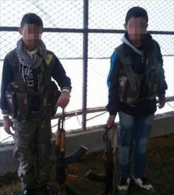 Moribund terror organization targets children
