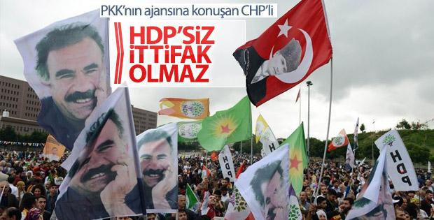 CHP'den HDP ile ittifaka yeşil ışık