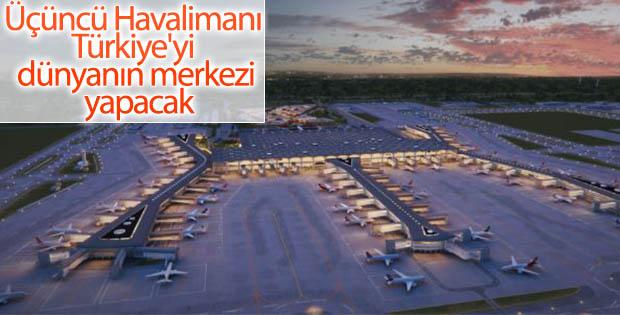 Türkiye Üçüncü Havalimanı ile şahlanacak