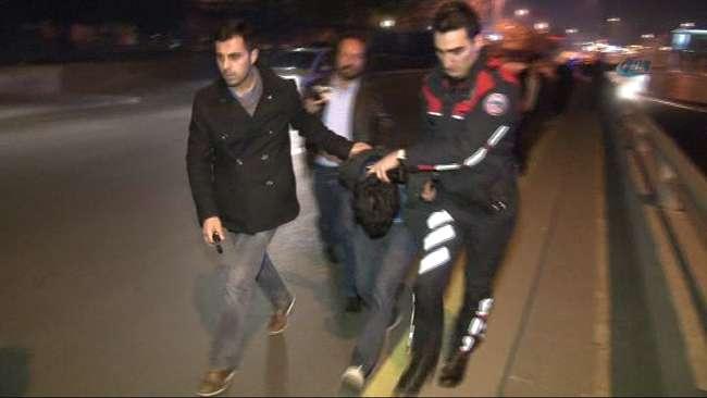 Ankara'da bir rögar kapağı hırsızı yakalandı
