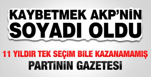 Ortadoğu gazetesinden AK Parti manşeti