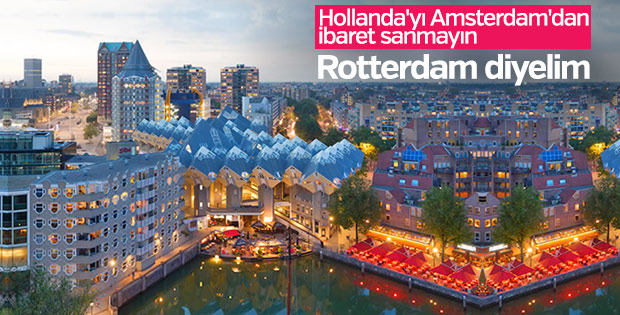 Baştan inşa edilen şehir: Rotterdam