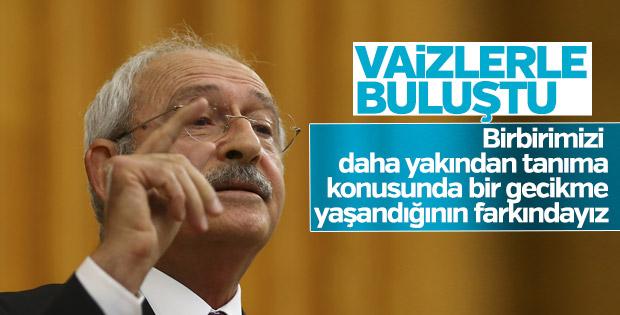 Kılıçdaroğlu İstanbul'da vaizelerle buluştu