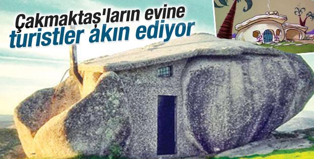 Çakmaktaş'ların evine turistler akın ediyor