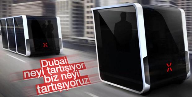 Dubai trafiğinin yüzde 25'i sürücüsüz araçlardan oluşacak