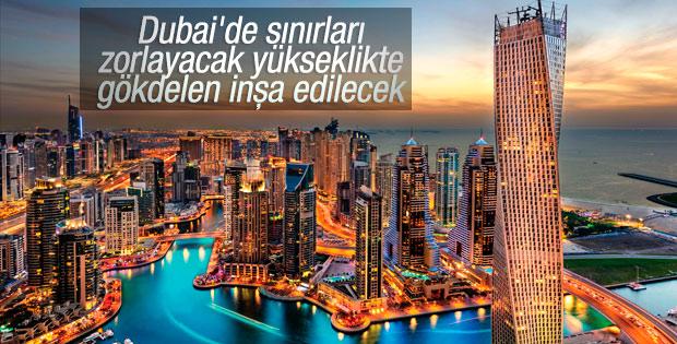 Dünyanın en yüksek gökdeleni yine Dubai'de yapılacak