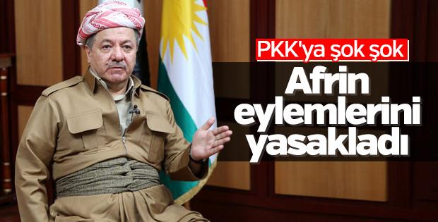 Duhok'ta Afrin eylemleri yasaklandı