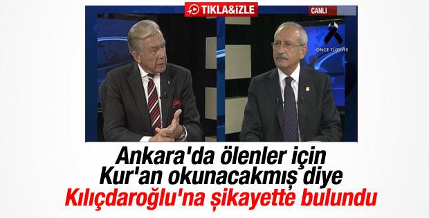 AK Parti'nin Kur'an okutması Uğur Dündar'ı rahatsız etti