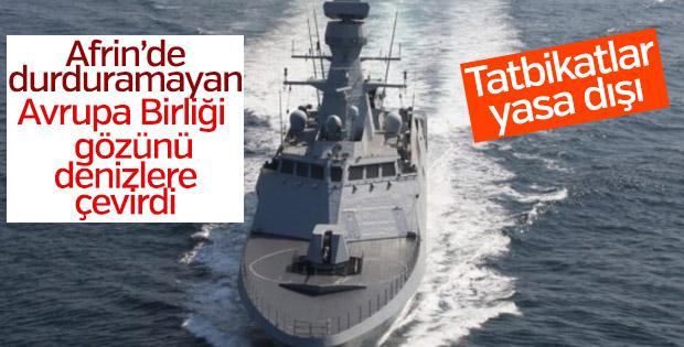 AB Belçika'da Türkiye'yi hedef aldı