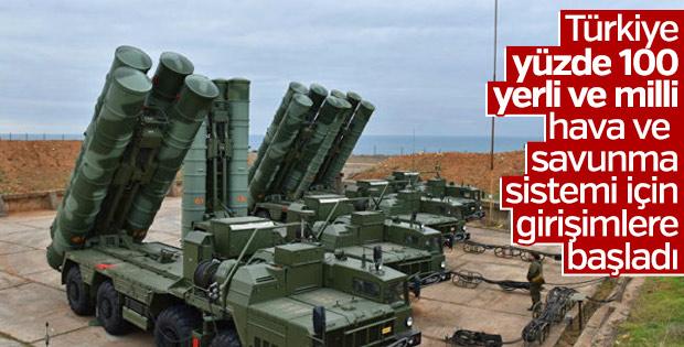 Türkiye kendi hava ve savunma sisteminin peşinde