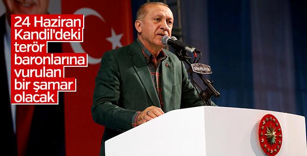 Erdoğan: Kandil'e tokat vurulacak
