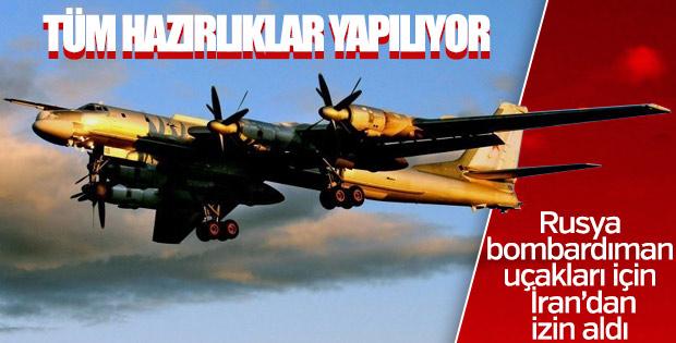 İran hava sahasını Rus bombardıman uçaklarına açtı