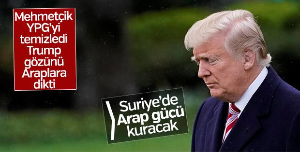 Trump Suriye'nin kuzeyinde Arap gücü planladı