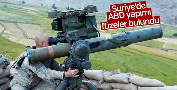 Suriye'de ABD yapımı füzeler buldu