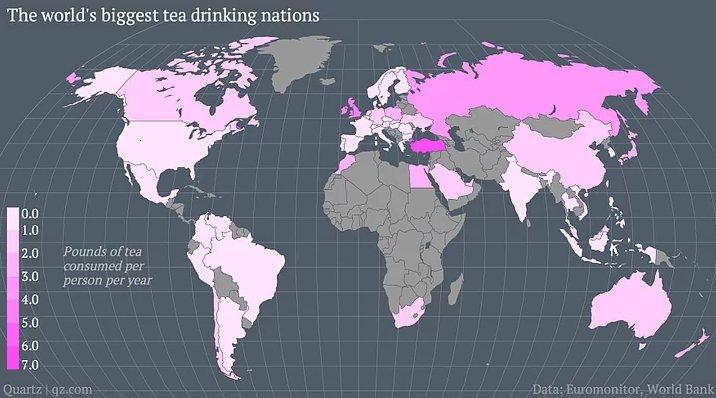 Dünyanın en çok çay içen ülkeleri arasında birinciyiz