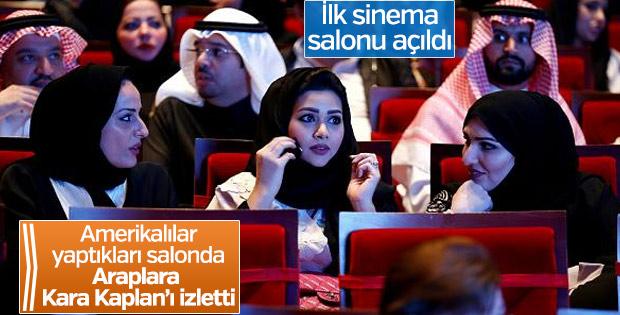 Suudi Arabistan'a ilk sinema salonu açıldı