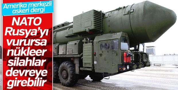 NATO Rusya'ya saldırırsa nükleer savaş kapıda