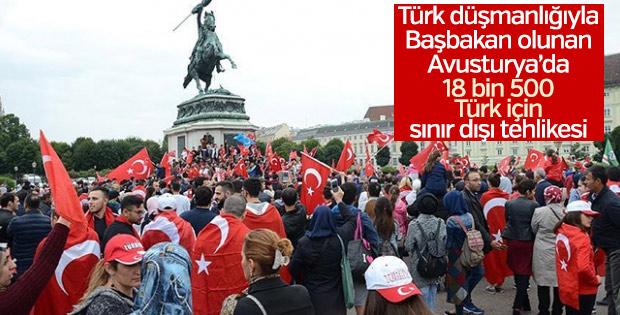 Avusturya Türkleri sınır dışı etmeye çalışıyor