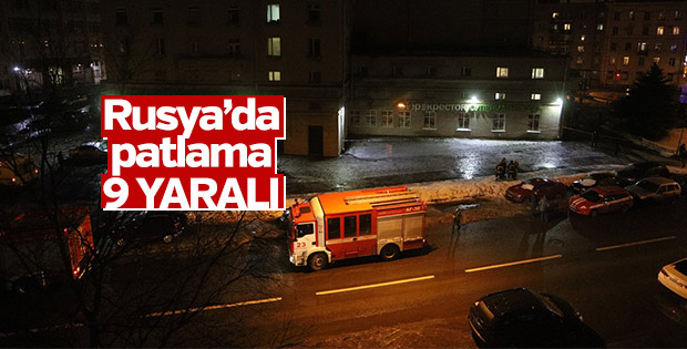 Rusya'da patlama: 9 yaralı