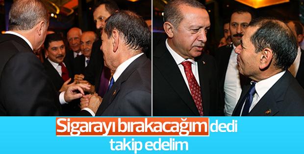 Dursun Özbek'ten Cumhurbaşkanı Erdoğan'a sigara sözü