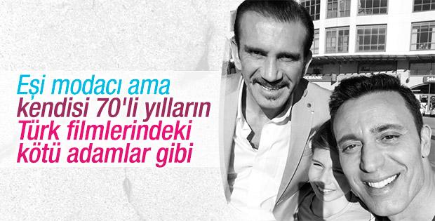 Mustafa Sandal Rüştü Reçber'le Selfie çekti