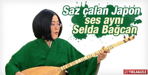 Japon gelin Asako Uyan Sunam türküsünü söyledi -İZLE
