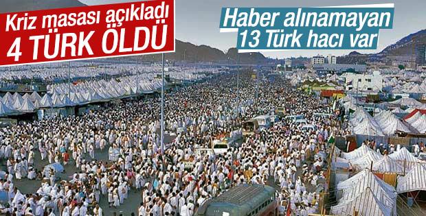 Mina'daki faciada 4 Türk hacı adayı hayatını kaybetti