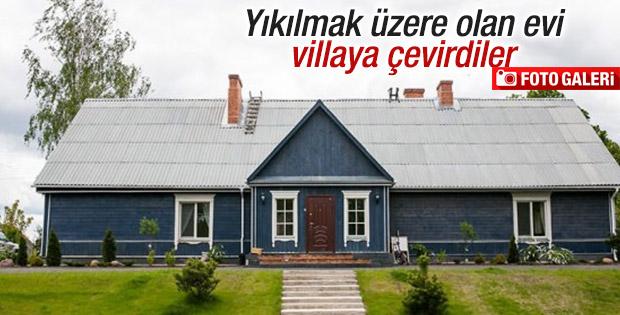 Restorasyonuna hayran kalınan ev