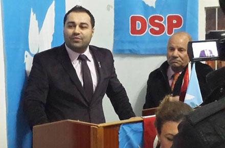DSP'nin Seyhan adayı Orçun Ünlü MHP'ye geçti
