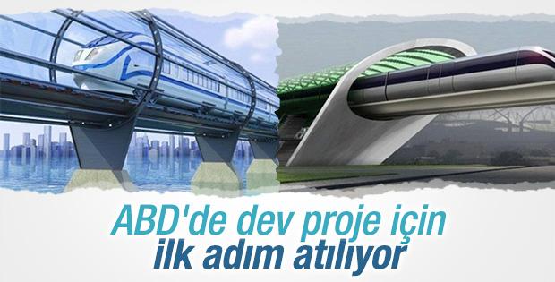 Tüplü ulaşım Hyperloop için ilk adım atılıyor