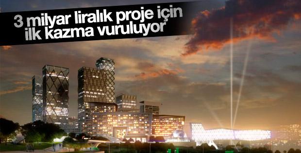 İstanbul Finans Merkezi'nde çalışmalar başlıyor