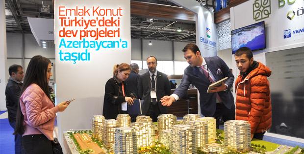Emlak Konut Azerbaycan Gayrimenkul ve Yatırım Fuarı'nda