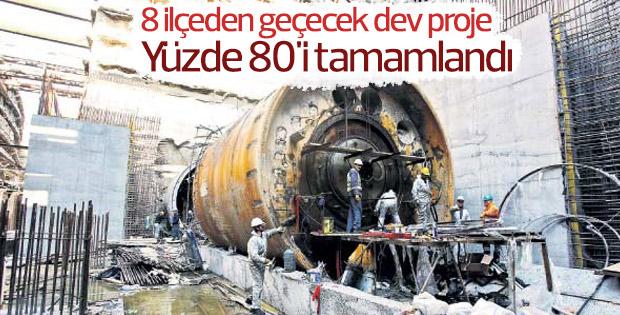 Mecidiyeköy- Mahmutbey metro hattı tamamlanıyor