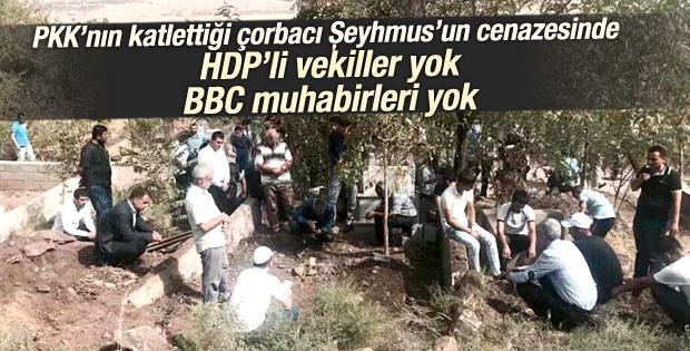 PKK saldırısında ölen Şeyhmus toprağa verildi
