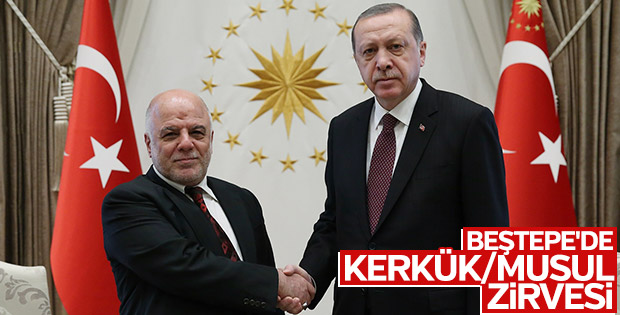 Irak Başbakanı İbadi Ankara'ya geldi
