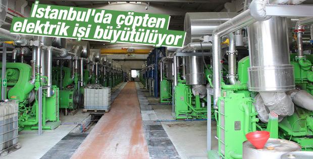 İstanbul'da çöpten elektrik işi büyütülüyor
