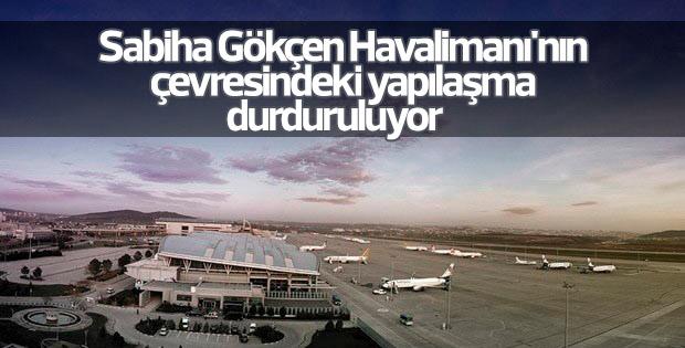 Sabiha Gökçen Havalimanı'na 1200 metre tel çit