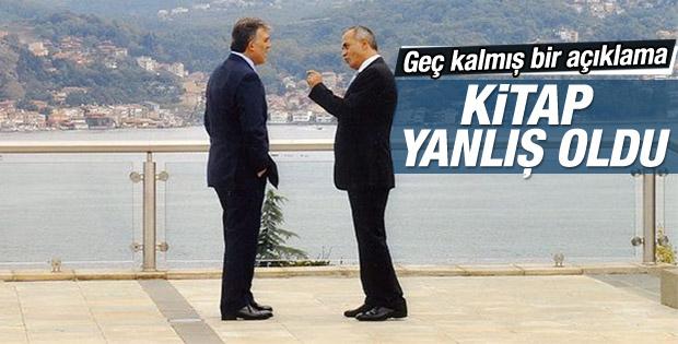 Abdullah Gül'den Ahmet Sever'e kitap yanıtı