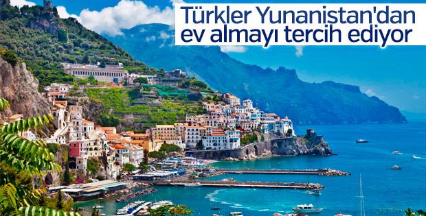 Türkler Yunanistan'dan ev satın alıyor