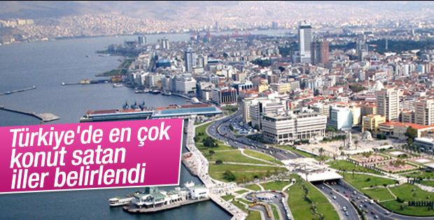 İzmir'de mayıs ayında 6 bin konut satıldı