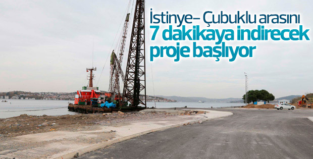 İstanbul'da köprü trafiğini azaltacak alternatif güzergah